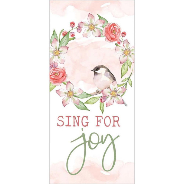 Sing for Joy Tabletop Sign