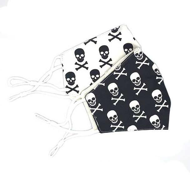 Pirate Skull Face Mask