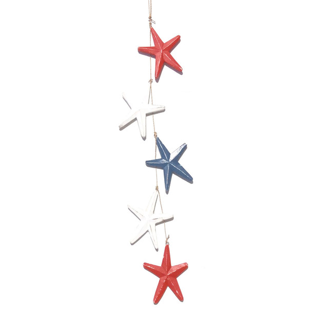Red White & Blue Stars