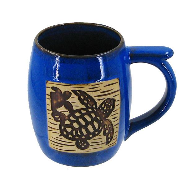 Stoneware Turtle Mug