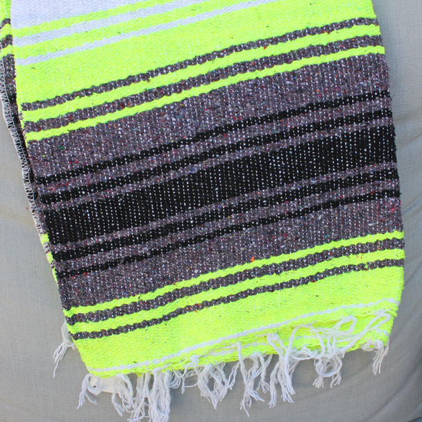Neon Yellow Blanket