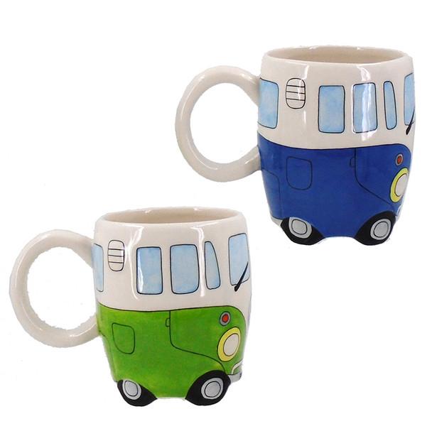 Beach Bus Mugs