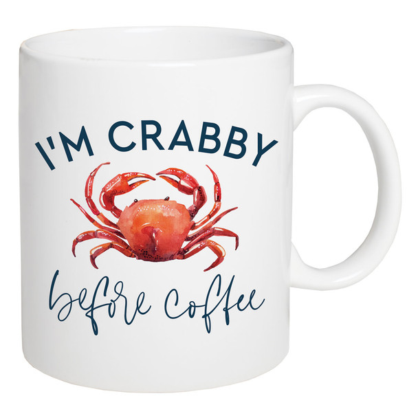I'm Crabby Before Coffee