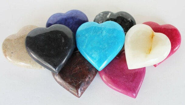 Hand-carved Stone Heart