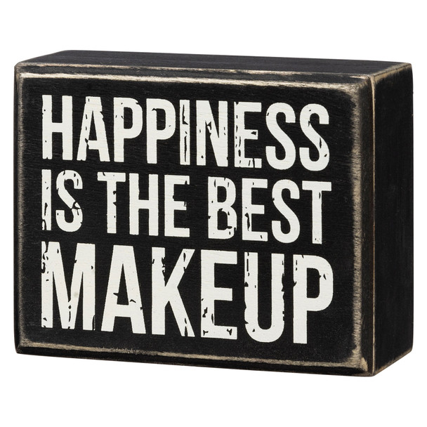 Happiness is the Best Makeup