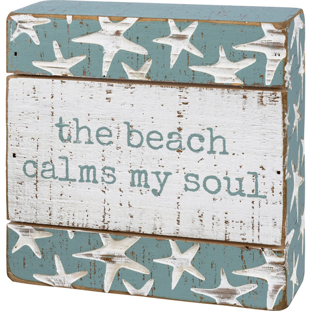 The Beach Calms My Soul