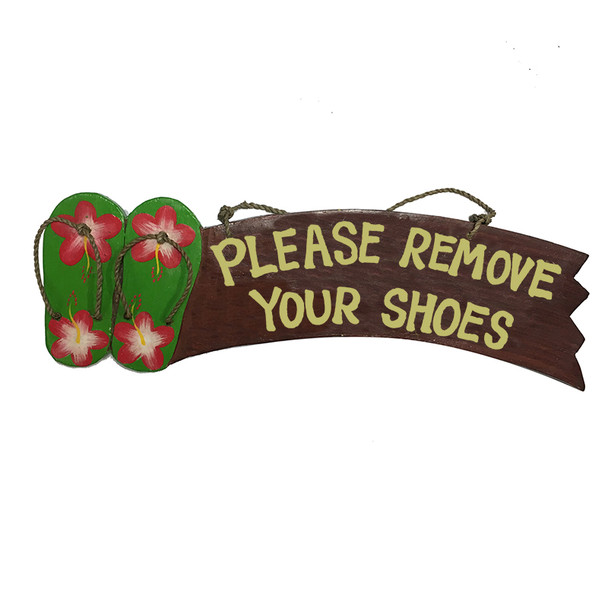 Please Remove Your Shoes