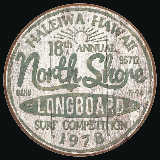 North Shore Metal sign