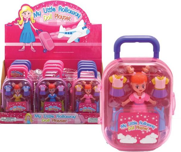 Rollaway Doll Playset