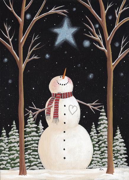 Star Wish Snowman