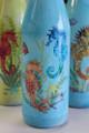 Seahorse Glass Bottles - Set of 4