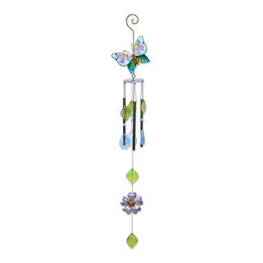 BUTTERFLY-RESIN FIGURINE WIND CHIME