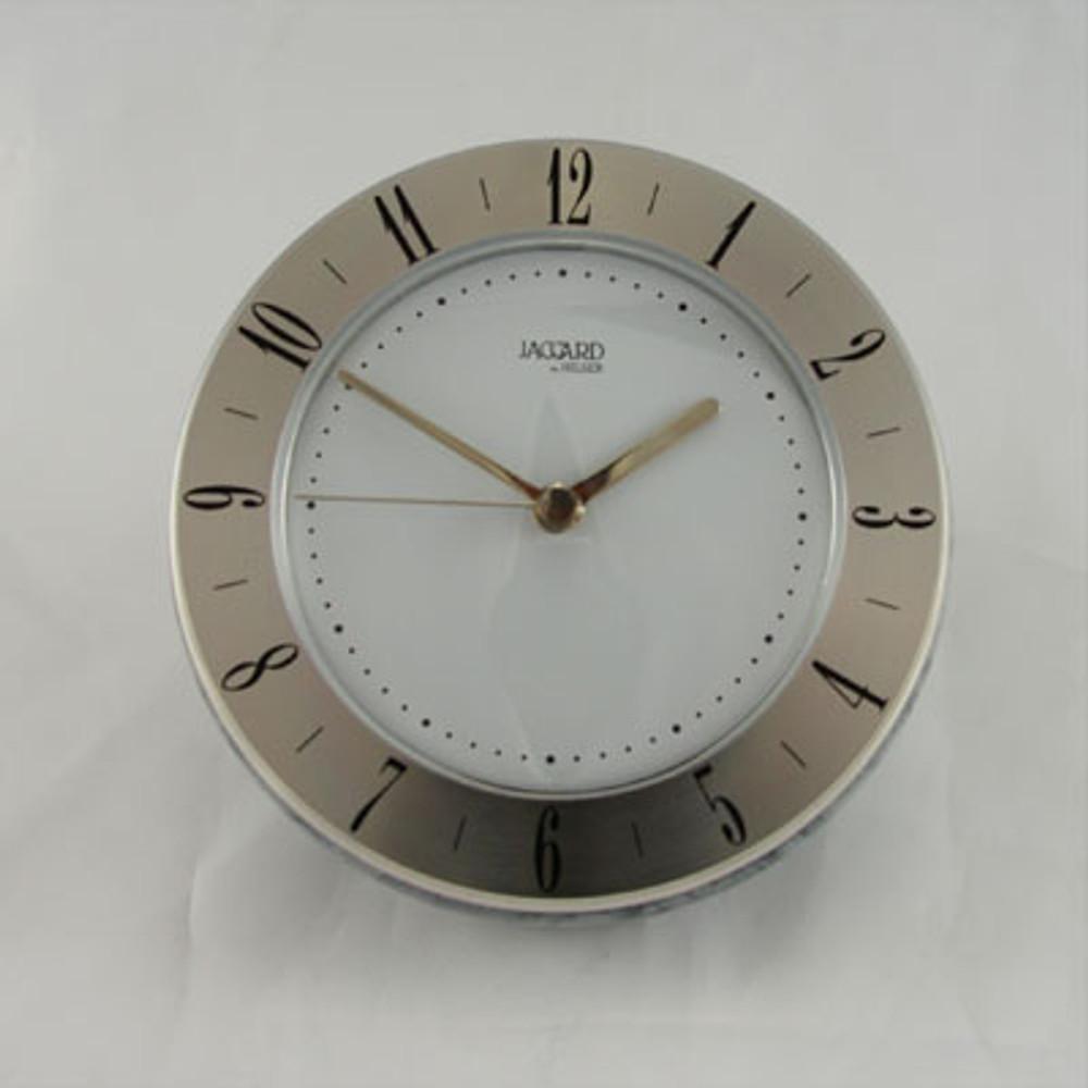 Jaccard  Grey/Silver  WJ.240210.2A Desk Clock