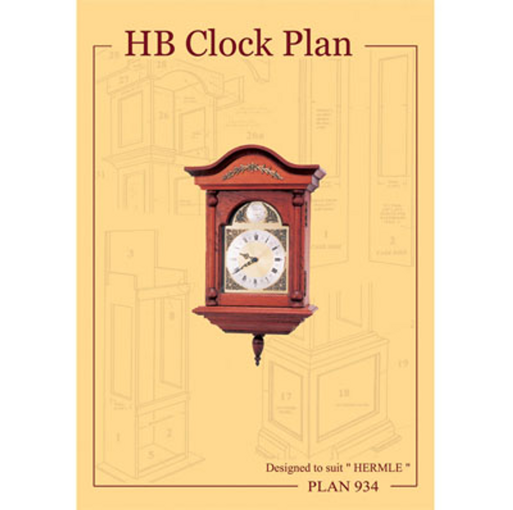 HB Clock Plan # 934