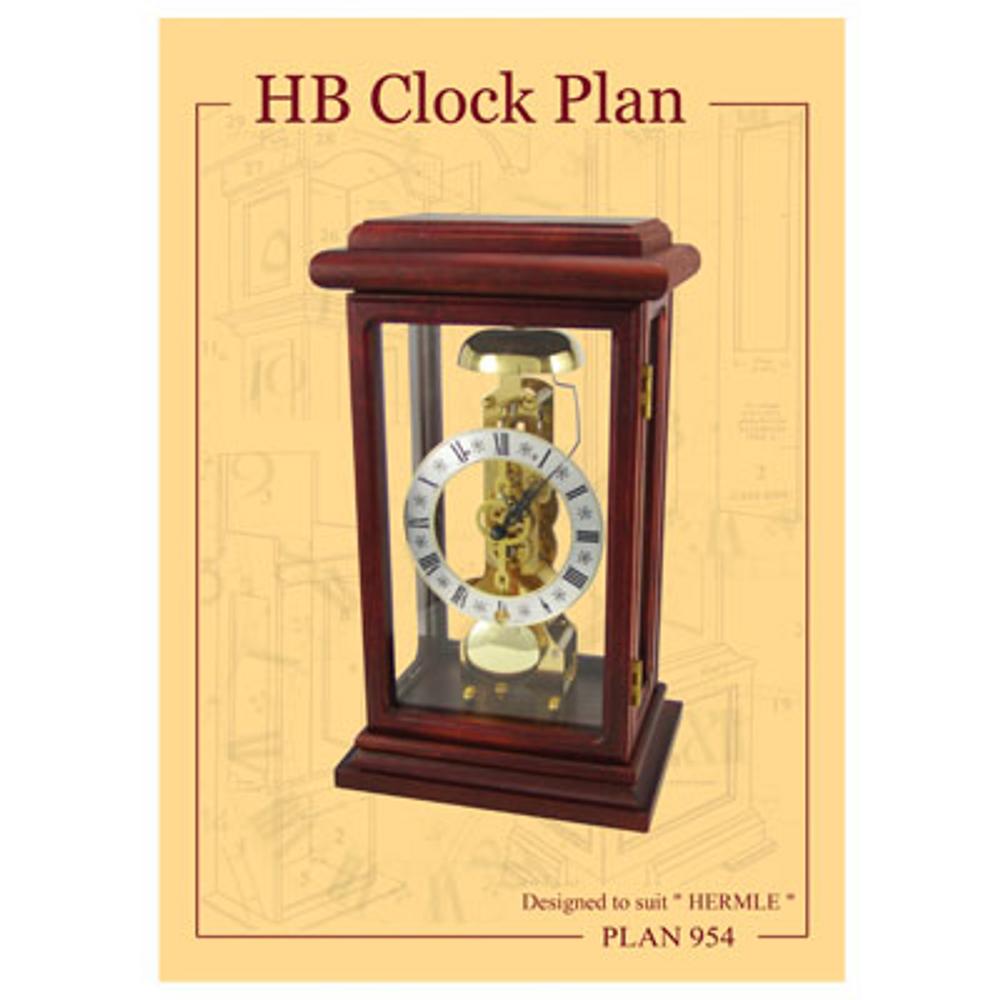 HB Clock Plan # 954