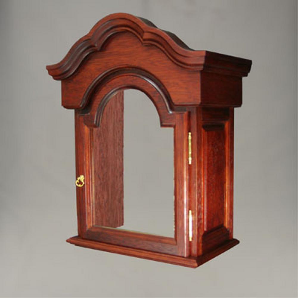 Floor Clock - 4/4 Chime - Hardwood - Mahogany Finish - HB & Sons - Hood.