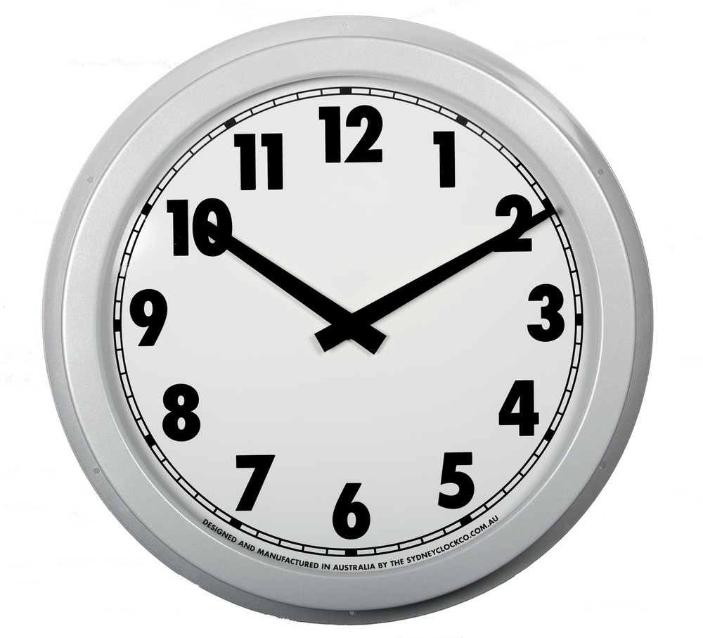 540 mm indoor wall clock.