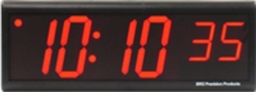 "DuraTime 6 Digit, 4.0"" Red LED Digital Clock.Available in RED, GREEN and Blue LED. Contact us for advice and prices."