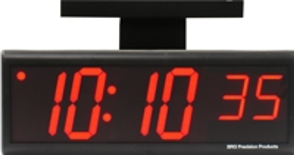"DuraTime double sided 6 Digit, 4.0"" Red LED Digital Clock. Available in RED, GREEN and Blue LED. Contact us for advice and prices."