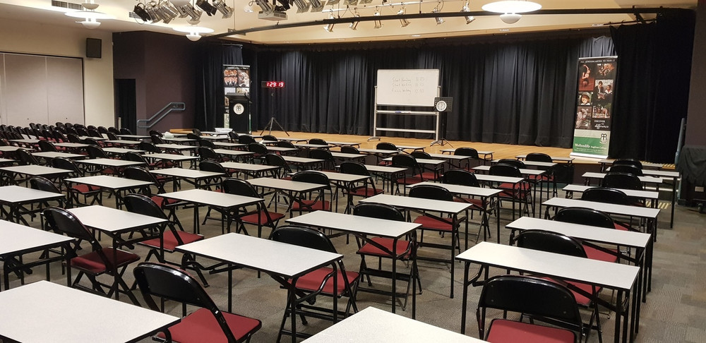 Wollondilly Anglican College - exam hall.