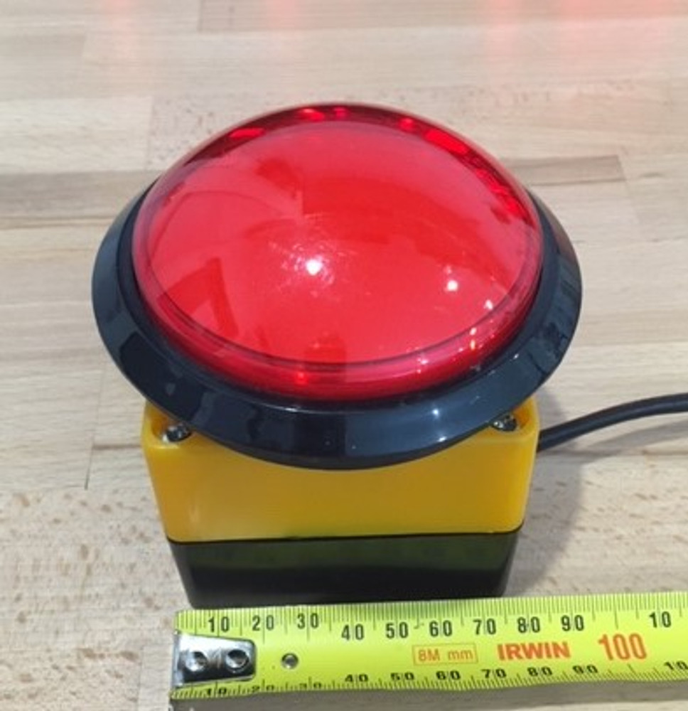 SCC20 UP/DOWN Clock and timer - BIG RED BUTTON