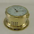 Ships Clock - Quartz - Solid Brass - H.B & Sons