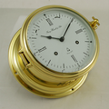 Hermle 8 day mechanical ships bell clock.