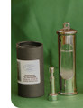 Stormglass Barometer in Stainless Steel with packaging.