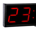 SCC20 UP/DOWN Clock and timer. Closeup of numerals.