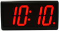 "DuraTime 4 Digit, 4.0"" Red LED Digital Clock. Available in RED, GREEN and Blue LED. Contact us for advice and prices."