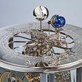 Tellurium II - Month/Zodiac/Sun/Moon/Earth/Westminster chime - Hermle. Top.