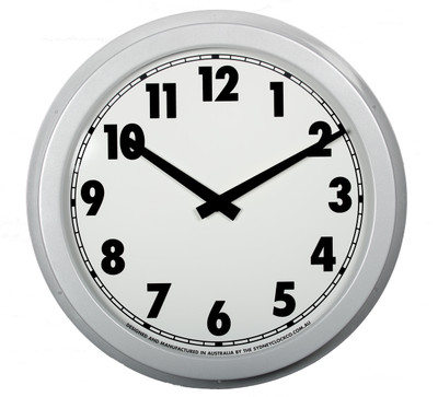 540 mm outdoor clock.