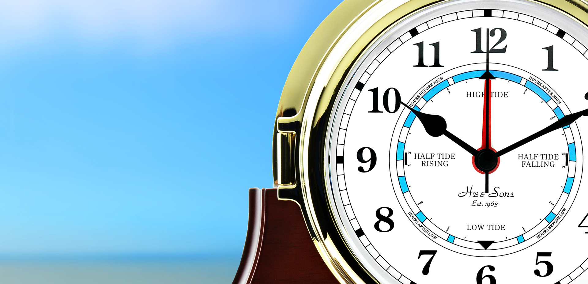 Ships Clock, Captain's Clock, Tide Clock