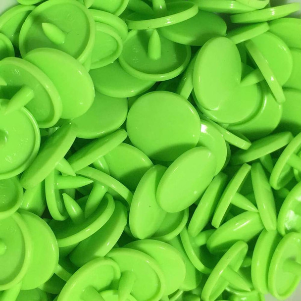 Lime Green Snaps
