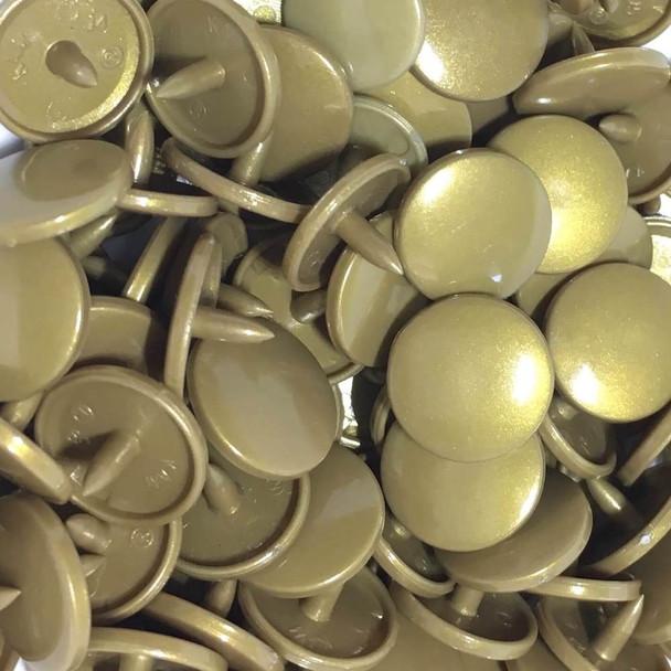 Metallic Gold Snaps