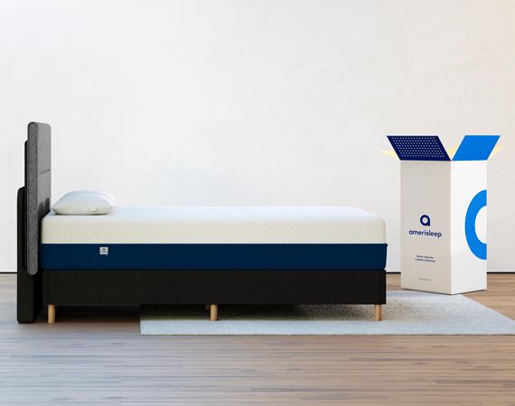 twin size mattress shipping box