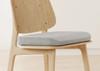 Amerisleep Seat Cushion on chair side view