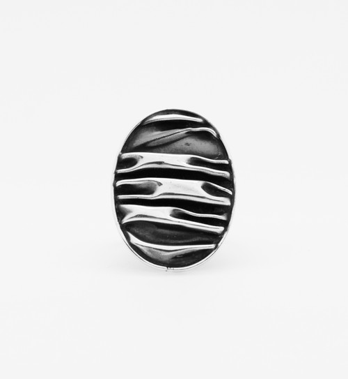 Corrugated Oval Ring