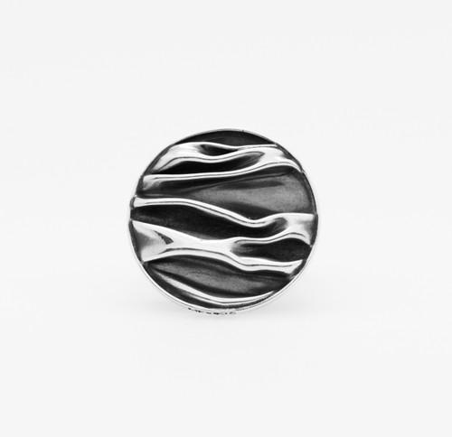 Corrugated Circle Ring