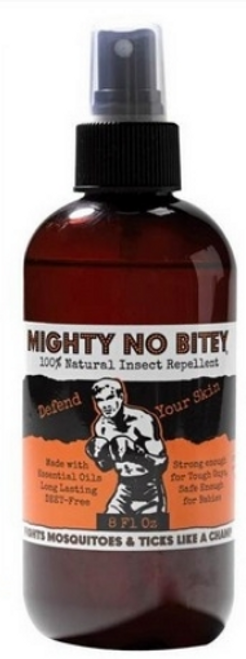 Mighty No Bitey - Best Organic Insect Repellent For Humans - 8 oz.
