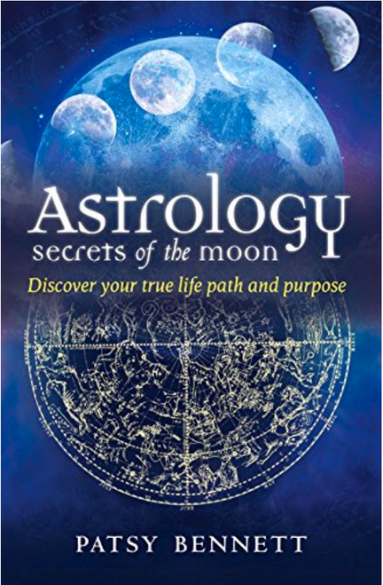 Astrology of the Moon - Book by Patsy Bennett - SALE - ONLY 1 LEFT!