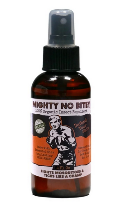 MIghty No Bitey - Best Organic Insect Repellent For Humans - 4 oz.