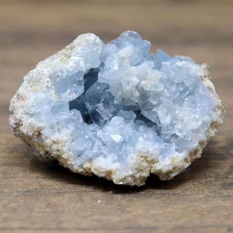 The Akashic Wealth Reserve- A beautiful celestite geode.