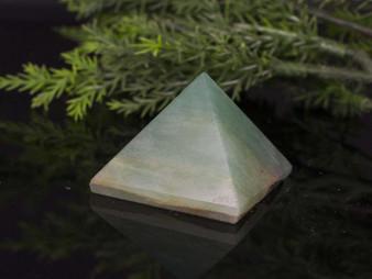 Sacred Prosperity Aventurine Pyramid