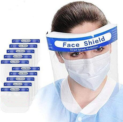 Face Shields - Reusable - 12 per pack