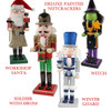 Deluxe Painted Wood Nutcrackers