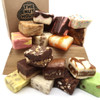 The perfect choice for those who find it hard to choose a flavor or if you just want to try different taste combinations! You get a quarter pound each of four different flavors of our home-made fudge. You are sure to find a new favorite!