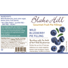 Wild Blueberry Pie Filling By Blake Hill At The Nut House