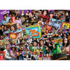 """This MasterPieces 19.25"""" x 26.75"""" 1000pc TV Time Puzzle will help you recall the most popular TV shows from that decade"""