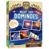 These Night Sky Dominoes aren't rocket science, but they will be the star of the show! Make matches between comets, telescopes, the big dipper, and more! Be the first to get rid of all your dominoes and win! For 2-4 players, ages 3+